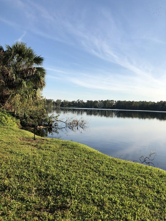 Florida-SonnenuntergangSommerzeit stockbilder