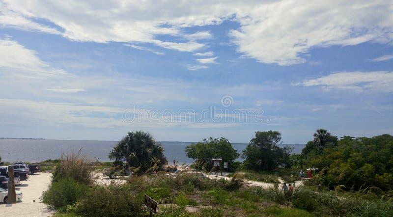 FLorida southwest sunset view, beaches royalty free stock photos