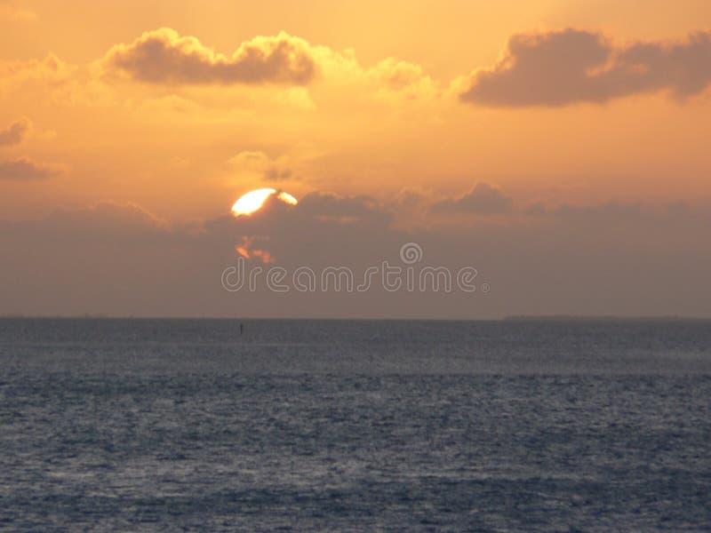 Florida stämmer solnedgång 2 arkivbilder