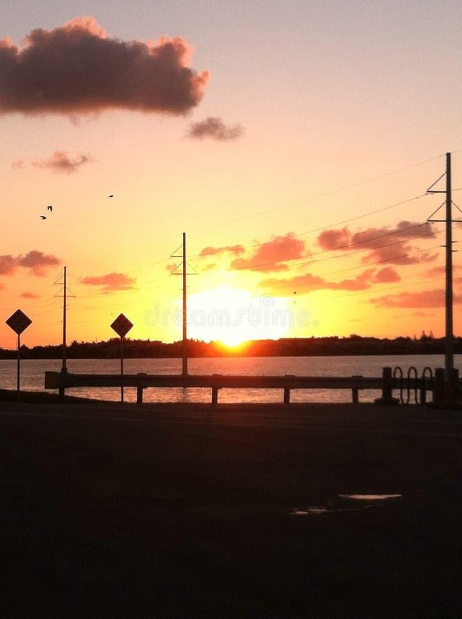 Florida stämmer soluppgång 2 arkivfoton