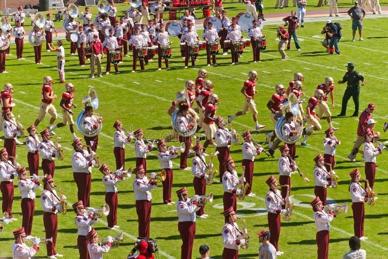 Florida State University Band royalty free stock photos