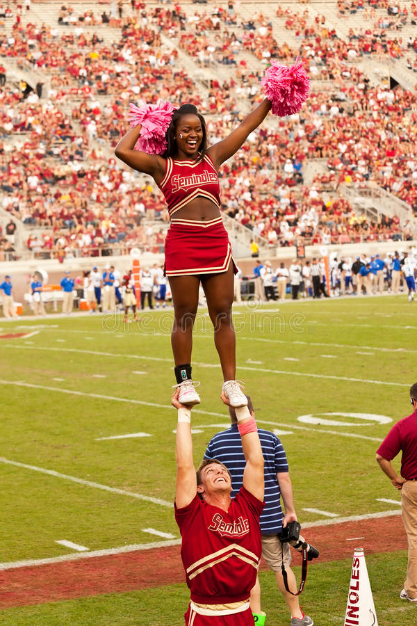 Download Florida State University Cheerleading Squad Editorial Stock Photo - Image: 27405498