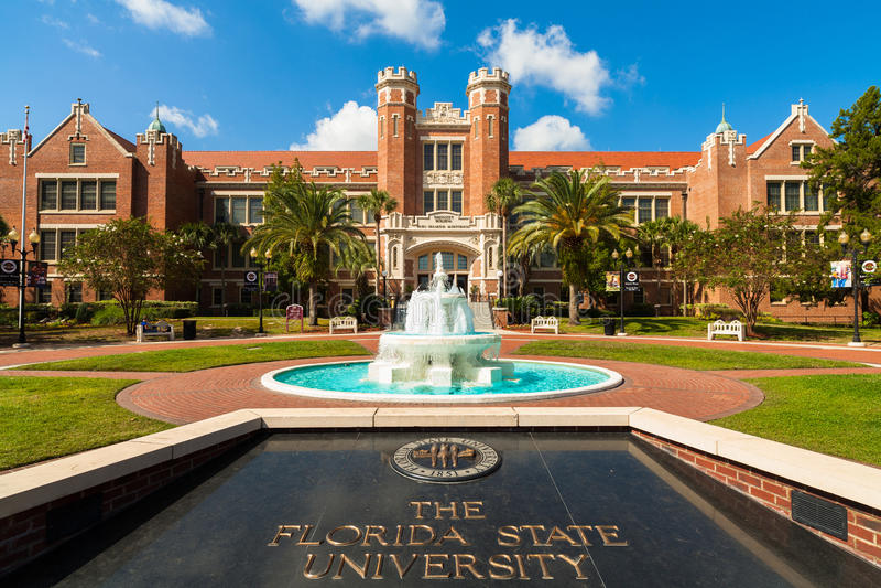 Florida State University stock image