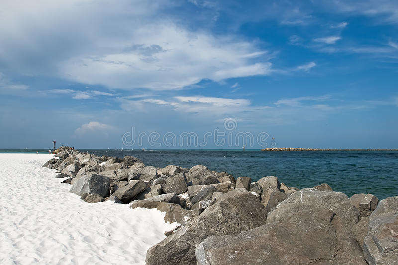 Florida-Strand stockbild
