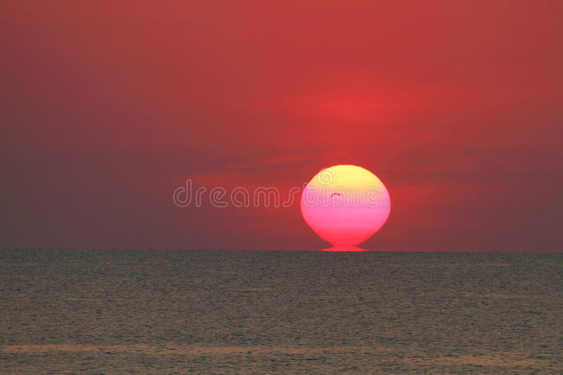 Download Florida sunrise stock image. Image of ocean, early, canaveral - 25986449