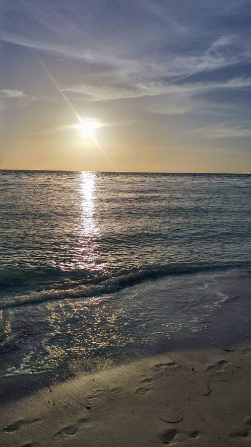 FLorida southwest sunset view, beaches royalty free stock image