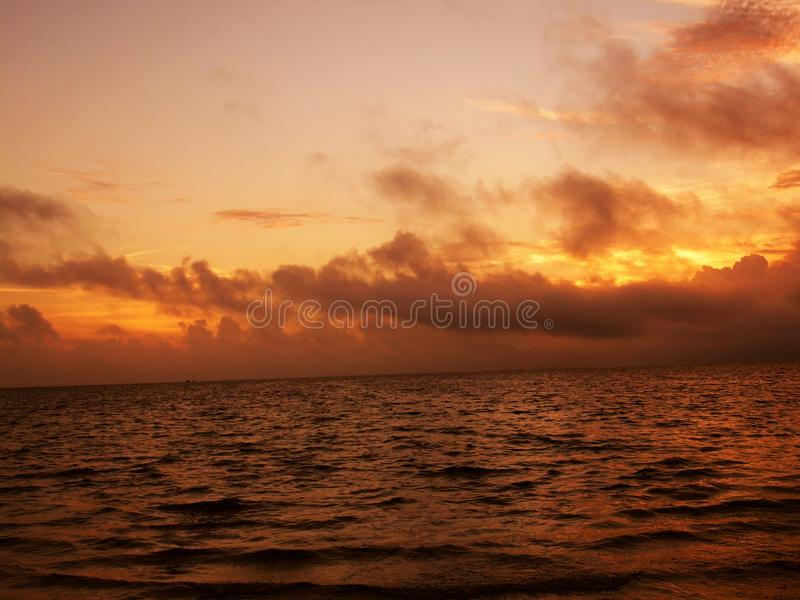 Florida sunsets royalty free stock photo