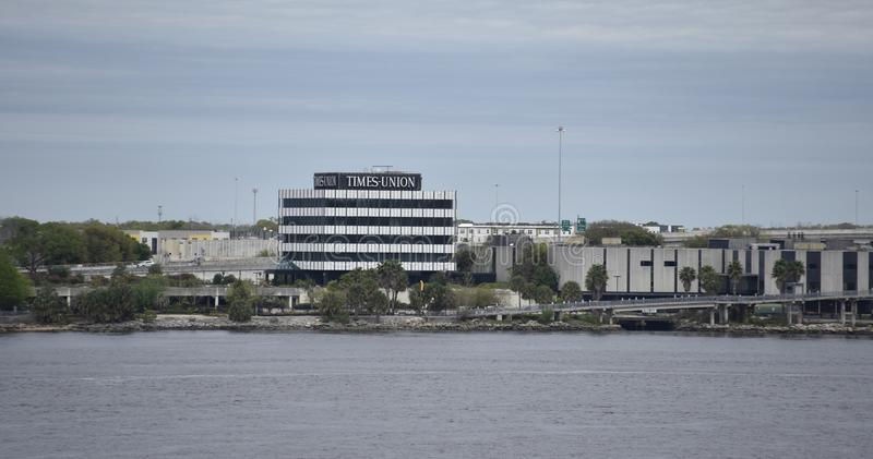 Florida Times Union, Jacksonville, Florida arkivfoton