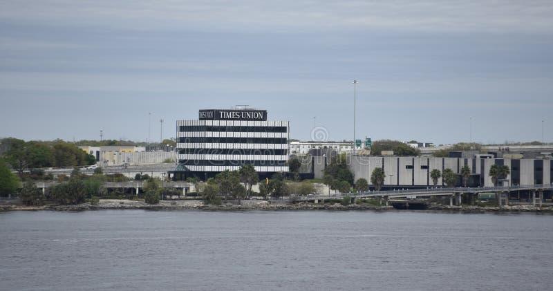 Florida Times Union, Jacksonville, Florida fotos de stock
