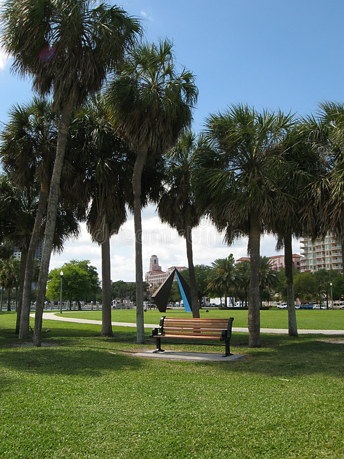 Free Florida Waterfront Park Royalty Free Stock Images - 2140659