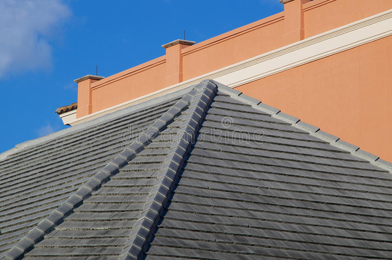 Download Floridia rooftops stock image. Image of blue, orange - 36705463