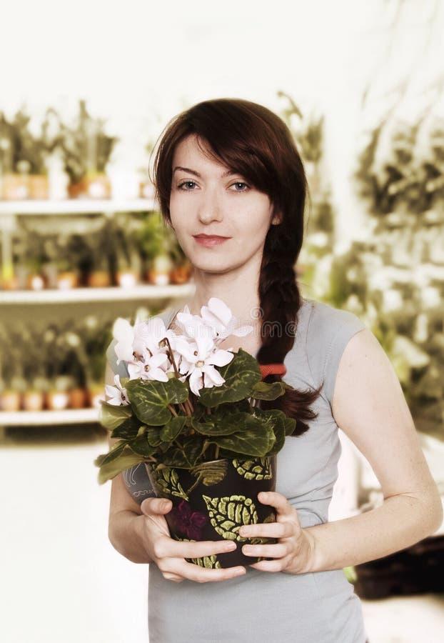 Download Florist stock image. Image of female, florist, merchandise - 23444123