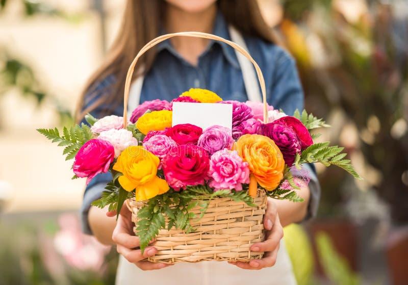 florist imágenes de archivo libres de regalías
