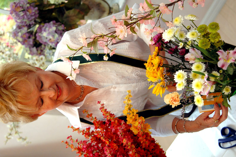 Download Florist working stock image. Image of aged, flower, colorful - 2155483