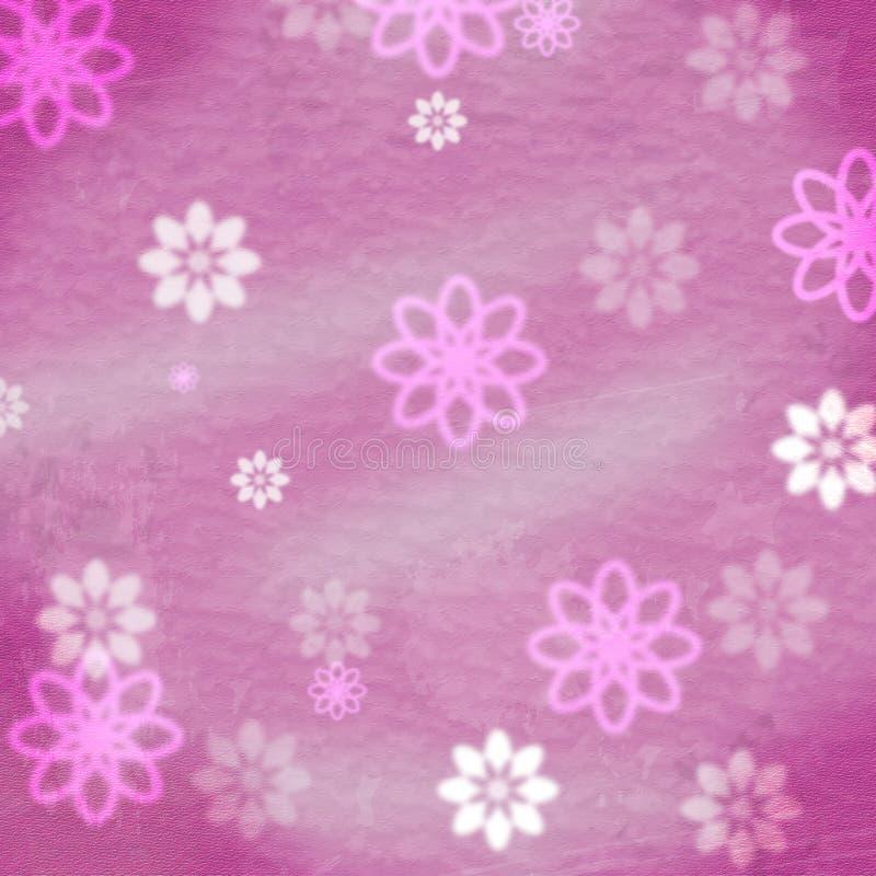 Florista floral Flower And Backgrounds de las demostraciones del fondo stock de ilustración