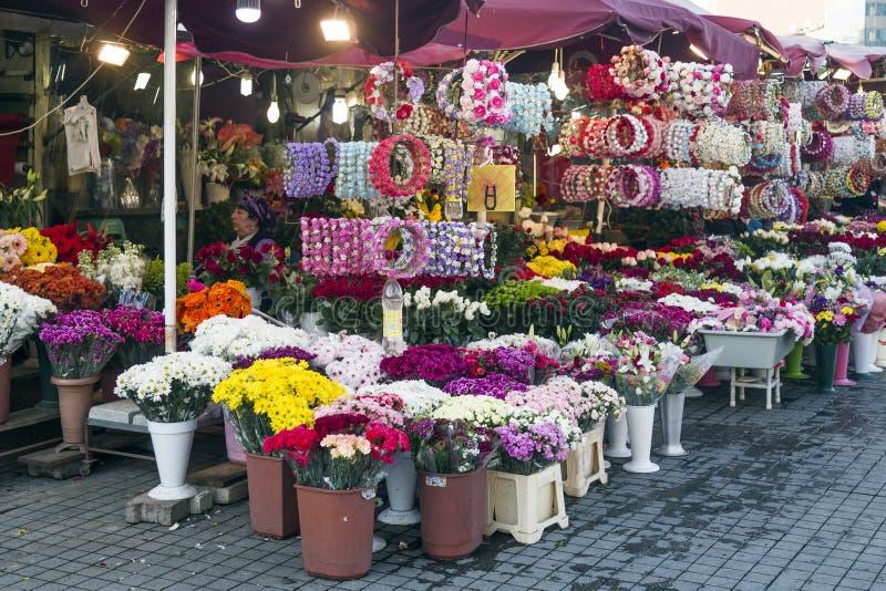 Floristen in Istanbul stockbild