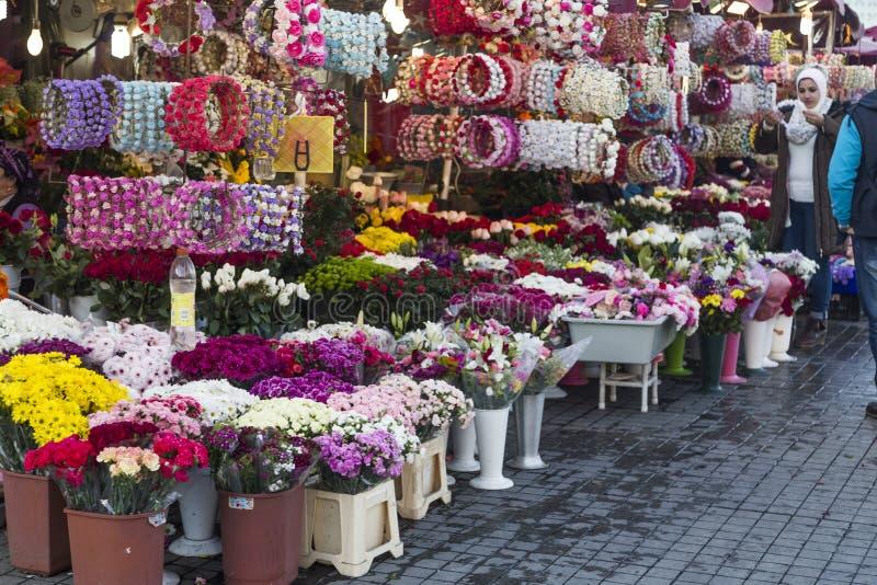 Floristen in Istanbul lizenzfreie stockfotografie
