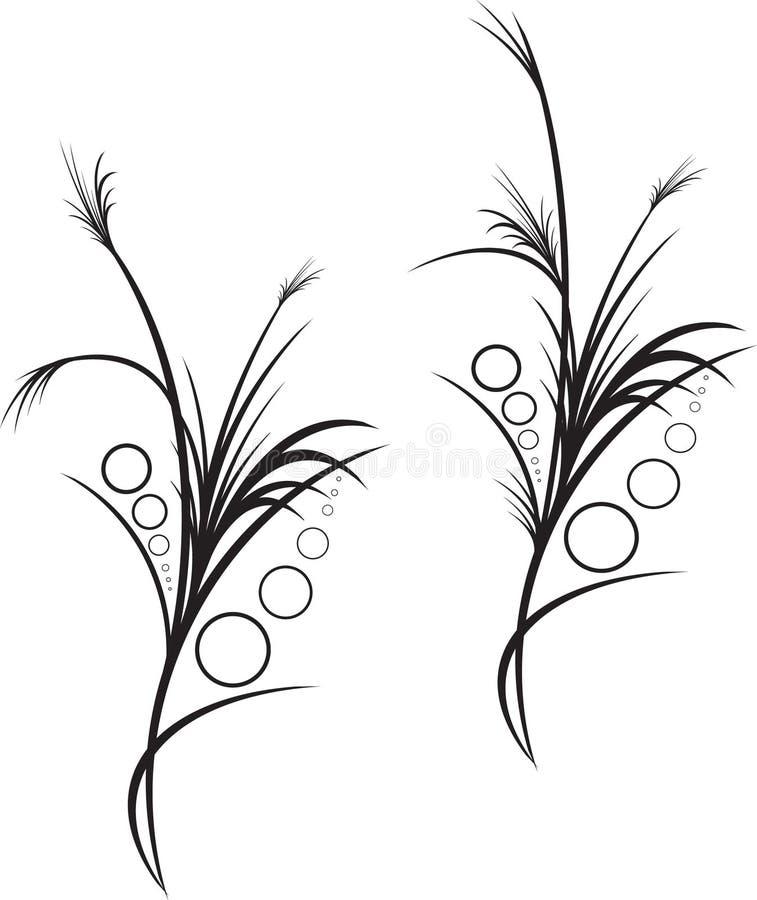 Floristic design stock image