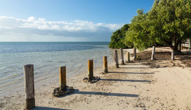 Floryda kluczy Anne plaża zdjęcia stock