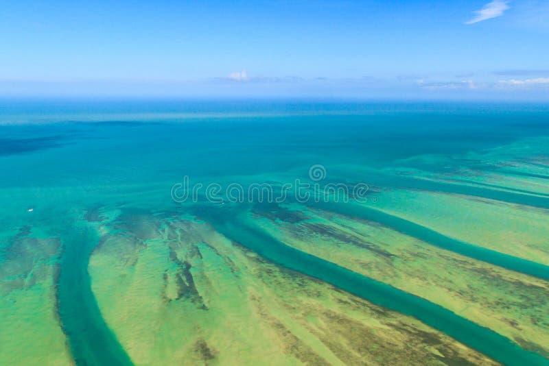 Floryda kluczy widok z lotu ptaka fotografia royalty free