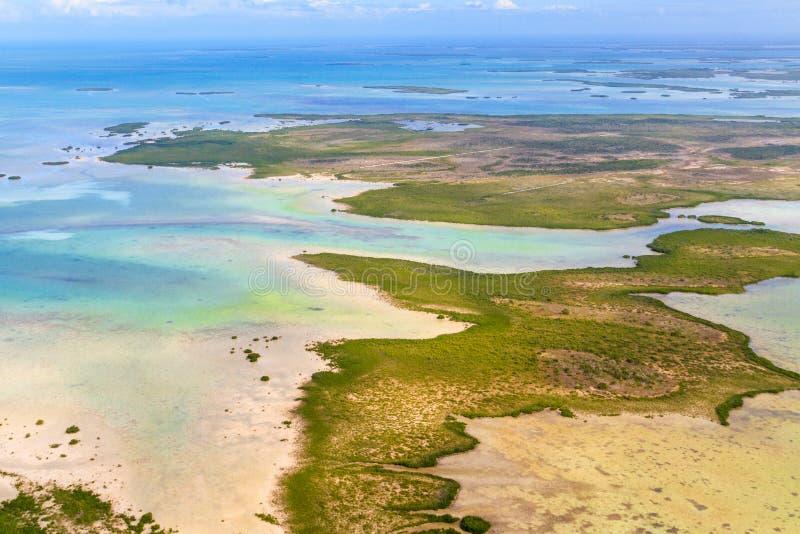 Floryda kluczy widok z lotu ptaka obrazy stock