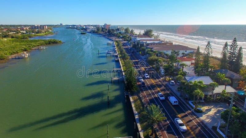 Floryda linia brzegowa blisko St Petersburg obraz royalty free