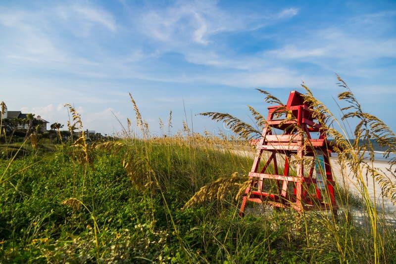 Floryda Plażowy krzesło zdjęcia stock