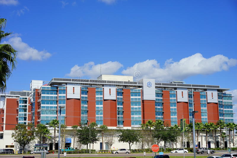 Floryda szpital w Tampa zdjęcia stock