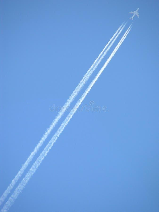 Flot d'avion à réaction photo stock