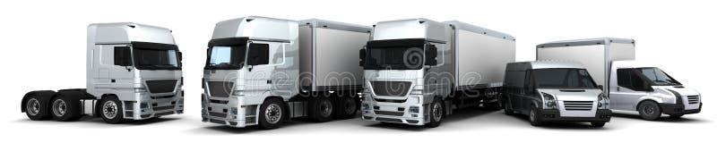 flota doręczeniowi pojazdy