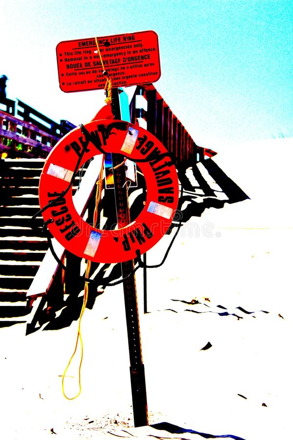 Flotation device stock image