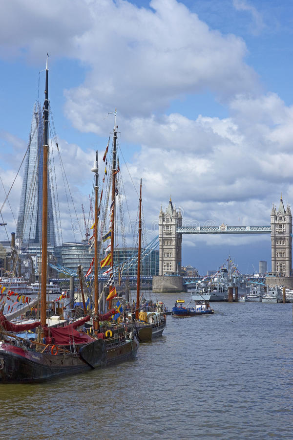 Download Flotilla On The River Thames Editorial Stock Photo - Image: 28205313
