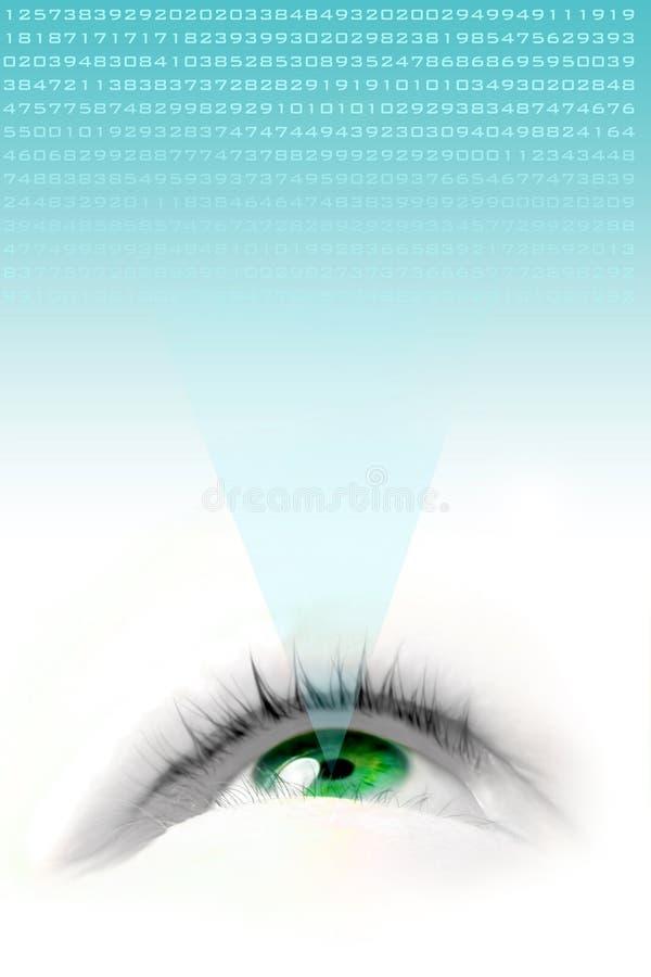 flottörhus green för öga vektor illustrationer