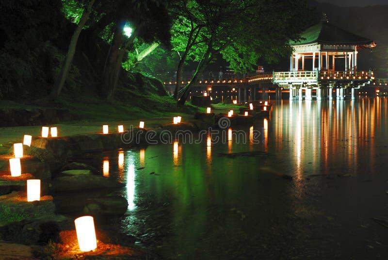 flottörhus pagoda royaltyfria foton