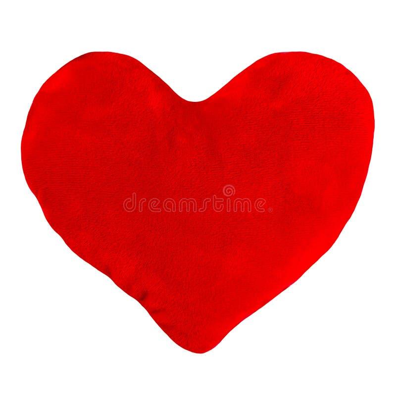 Flott hjärta formad kudde royaltyfri bild