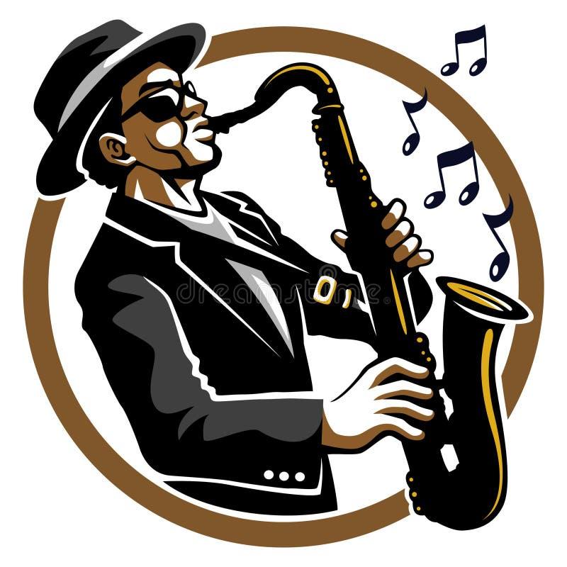 flott jazzy stock illustrationer