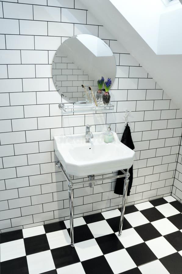 Flott toalett royaltyfri fotografi