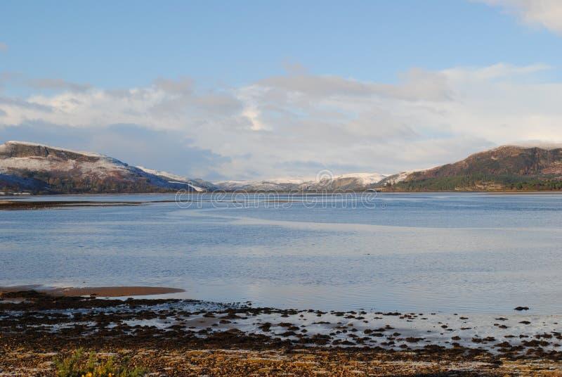 Flotta del lago, Scozia fotografia stock libera da diritti