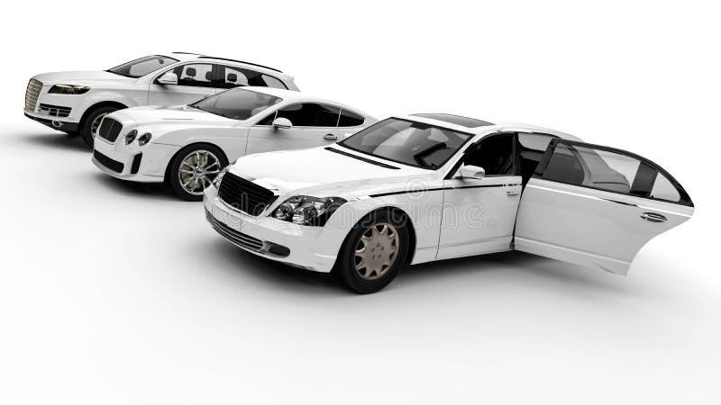 Flotte de luxe illustration de vecteur