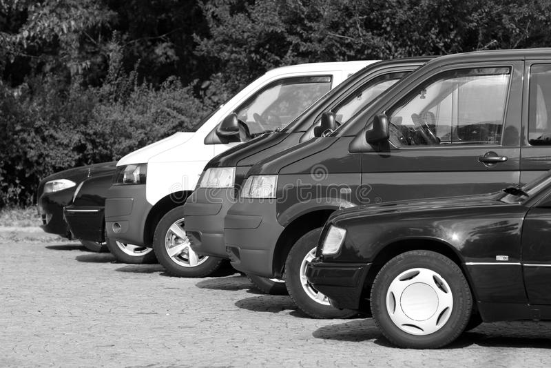 Flotte de véhicules photos stock