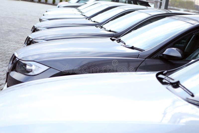 Flotte de véhicules image stock