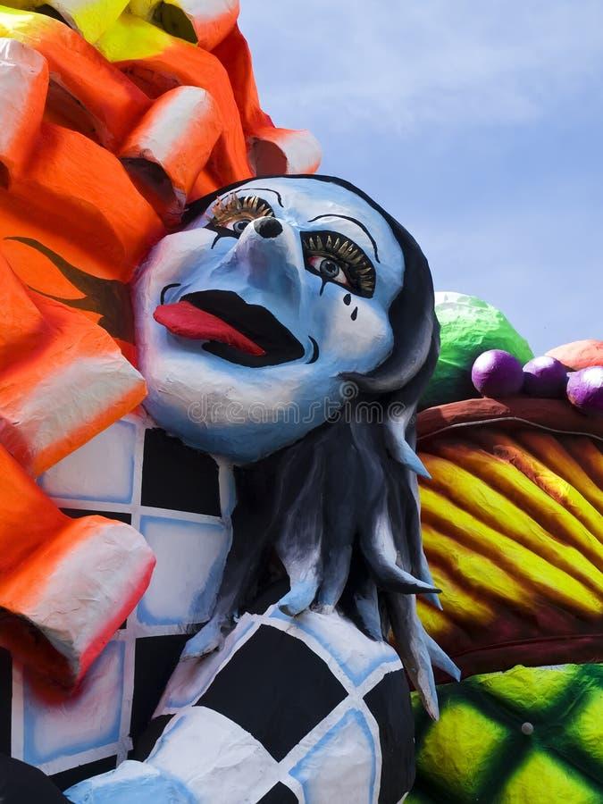 Flotteur de carnaval image stock