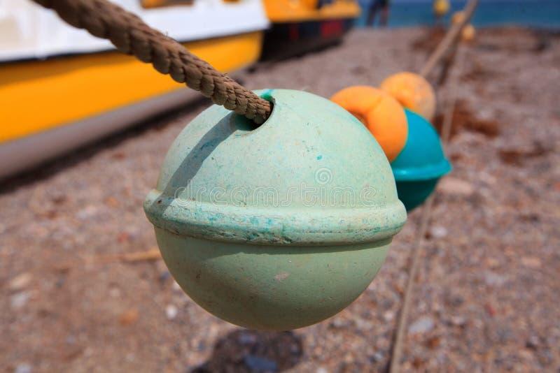 Flotteur en plastique pour la pêche photos stock