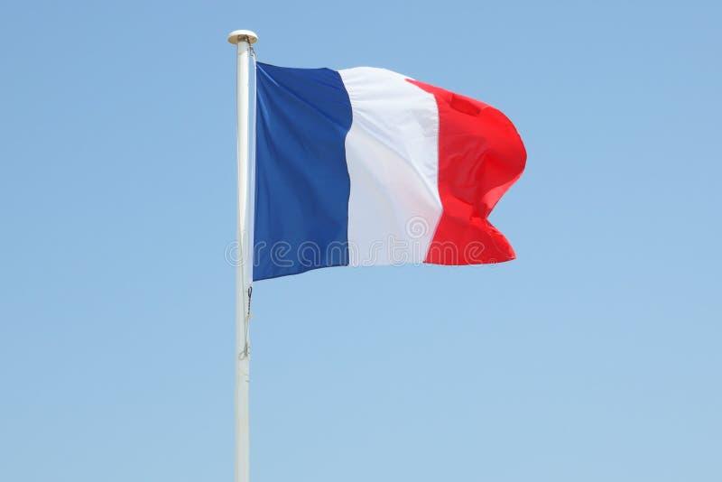Flotteurs de drapeau français de Frances photo stock