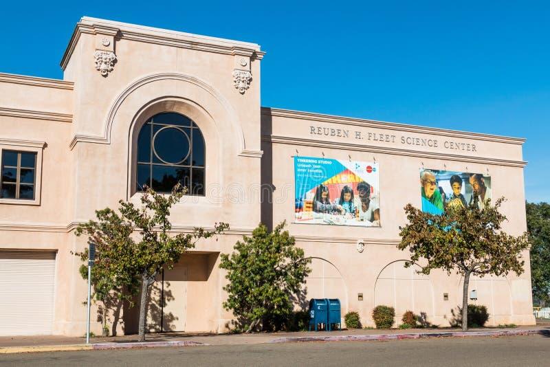 Floty nauki centrum w balboa parku w San Diego obraz stock