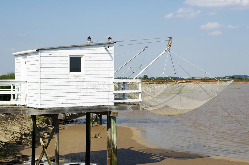 Download Flounder fishing stock photo. Image of river, cabin, construction - 32197552