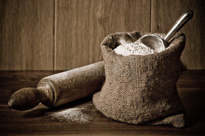 flour вкладыш стоковая фотография rf