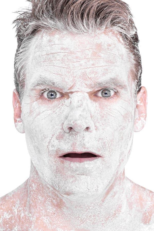 Free Flour Man Stock Photo - 37838870