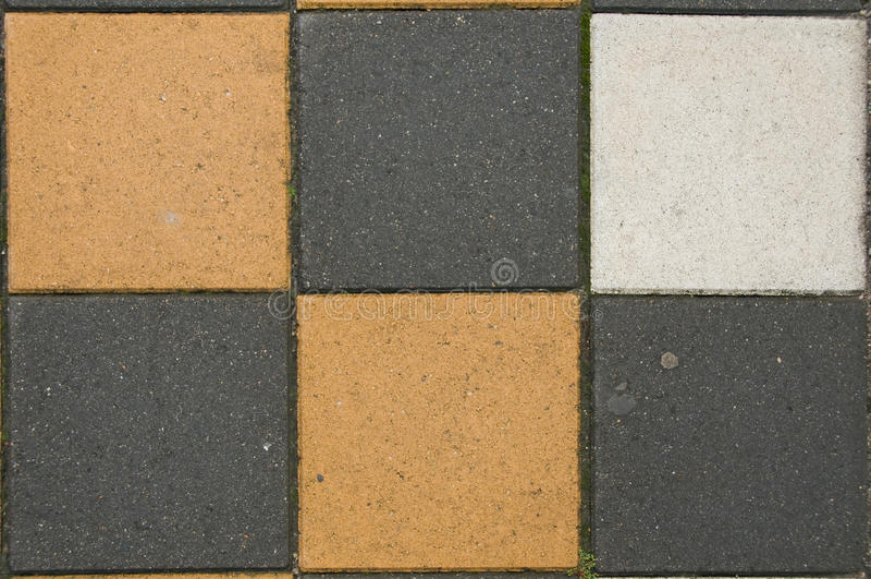 Flour tiles royalty free stock image