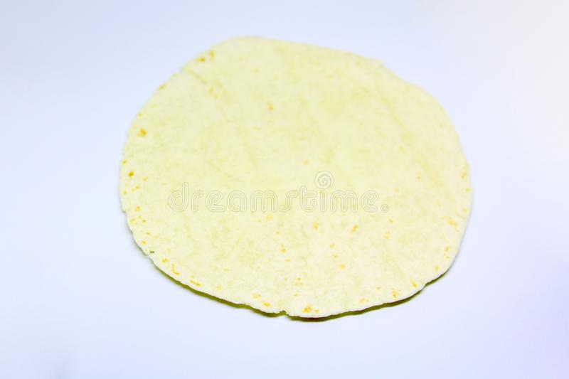 Flour tortilla royalty free stock images